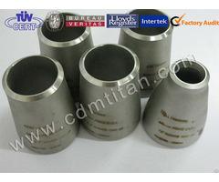 Cdm Titanium Pipe Fittings Elbow Reducer Tee Stub End Cap