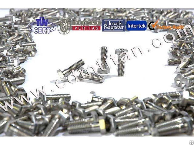 Cdm Titanium Fasteners Machining Parts Screw Bolt