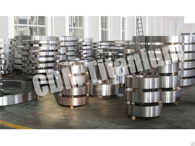 Cdm Titanium Forging Ring Disc Flange