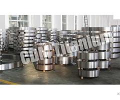 Cdm Titanium Forging Ring Disc Flange