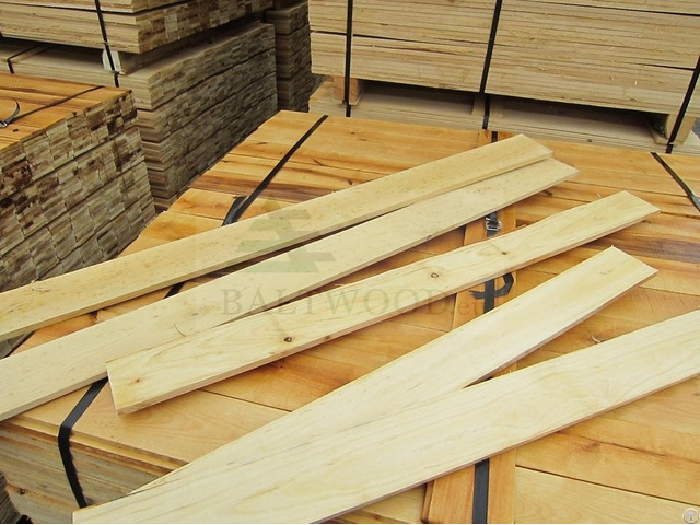 Edged White Birch Lumber