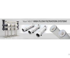 High Flow Filter Cartridge And Frp Housing
