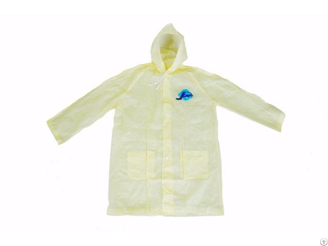 R 1058 Yellow Adult Pvc Vinyl Rain Womens Waterproof Jackets