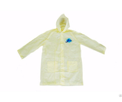 R 1058 Yellow Adult Pvc Vinyl Rain Womens Waterproof Jackets
