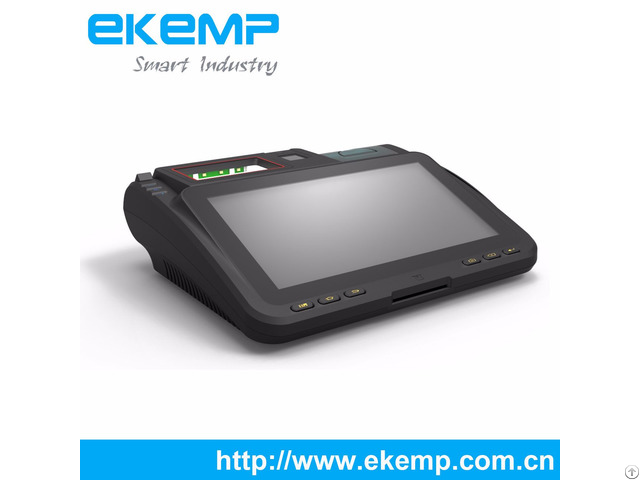 Ekemp P10 Financial Equipment Tablet Android Pos All In One