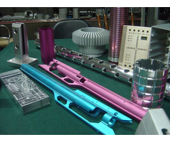 Colorful Anodized Aluminum Profiles