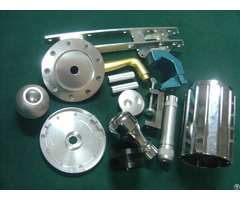 Aluminum Extruded Parts For Construction And Industry
