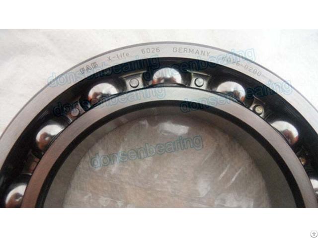 Open Type Deep Groove Ball Bearing 6026