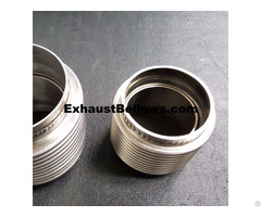 Exhaust Bellows Manifold Flex Pipe Coupling Oem To American Top 3