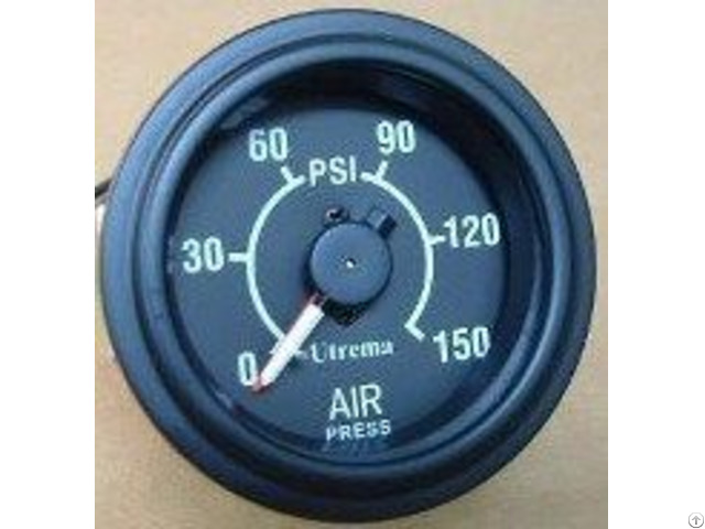 Utrema Auto Mechanical Dual Needle Air Pressure Gauge 2 1 16