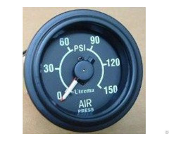 Utrema Auto Mechanical Dual Needle Air Pressure Gauge 2 1 16""