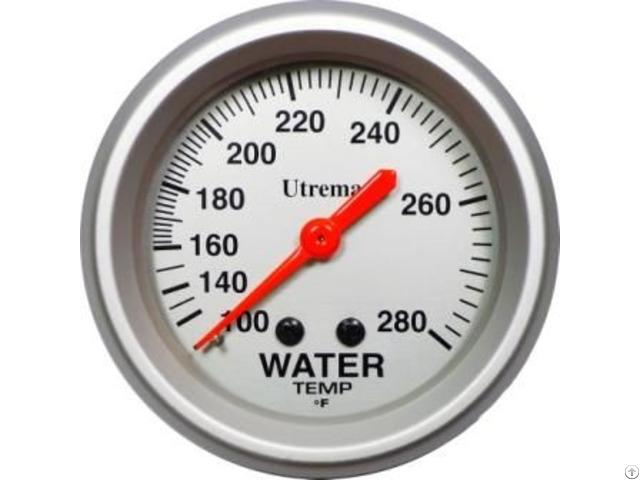 Utrema Racing Mechanical Water Temperature Gauge