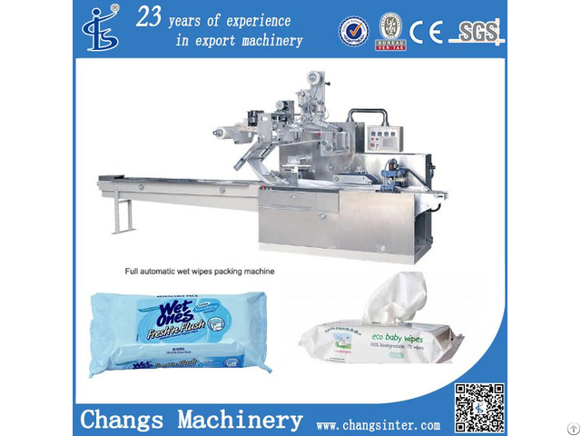 Dwb Series Auto Sachet Baby Wet Wipes Packaging Machine Manufacturers Price