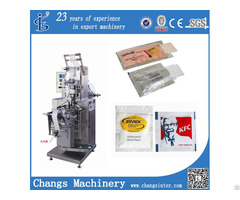 Zjb Series Custom Wet Wipes Making Machine For Sale