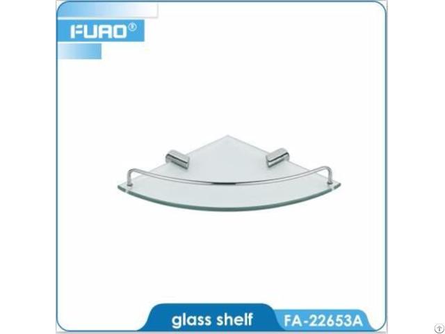 Wall Mounted Bathroom Glass Shelf