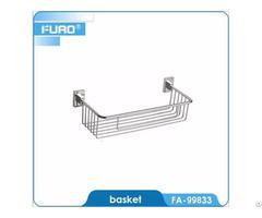 Wall Mounted Bathroom Dual Tier Shower Shelf