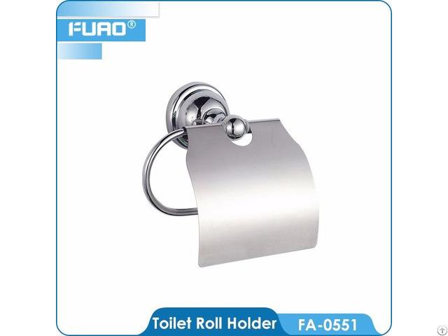 Brass Chrome Toilet Towel Paper Dispenser