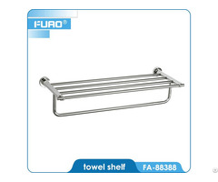 Fuao Wall Mounted Bathroom Towel Rack