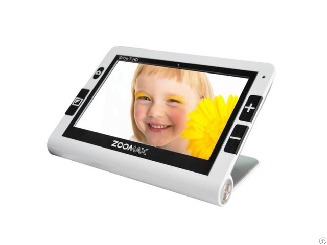 Snow 7 Hd The Easiest To Use Seven Inch Handheld Video Magnifier