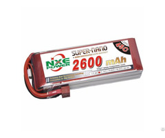 Nxe2600mah 25c 11 1v Softcase Rc Helicopter Battery