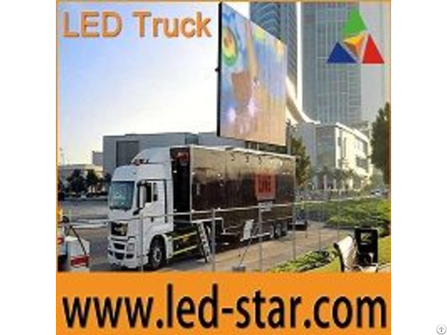 Led Truck Advertising Board