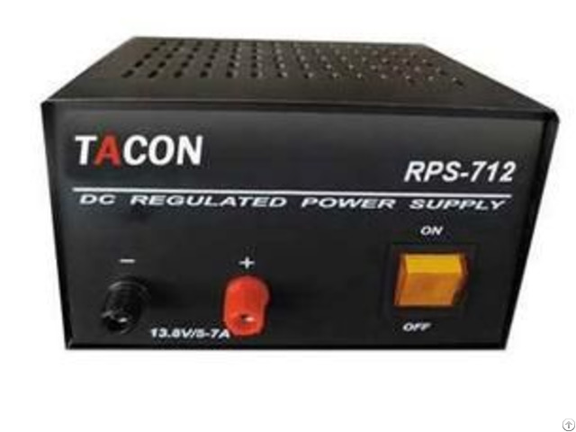 Rps -712 5 -7a13 8v Dc Regulated Power Supply