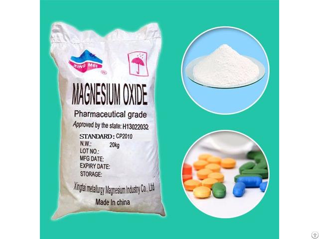 China Magnesium Oxide Powder Ep Usp Bp