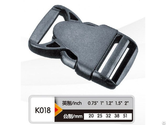 Colored Plastic Quick Side Release Buckle