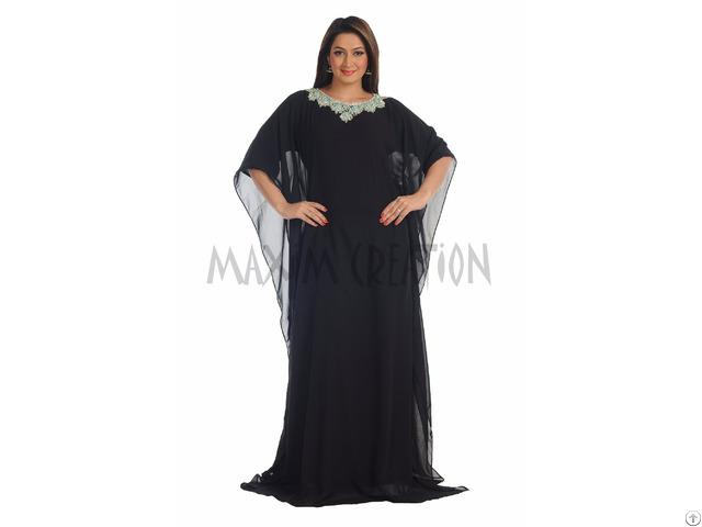 New Dubai 2016 Evening Wear Kaftan Dress For Women