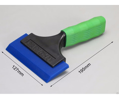 "4"" I Beam Green Shorty Squeegee Glass Tinting Tool"
