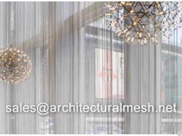 Architectural Mesh Window Curtain