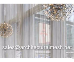 Architectural Mesh Window Curtain
