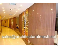 Decorative Metal Mesh For Space Dividers