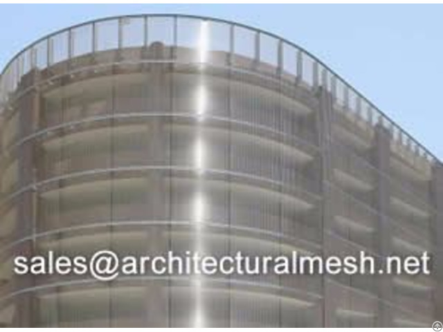 Architecture Mesh For Building Facades