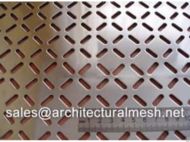 Perforated Metal Ventilated Facade Ensure Optimal Privacy Protection