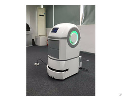 Laser Guided Service Robot