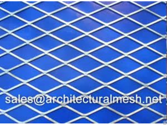 Expanded Metal Mesh Gives The Building Modern Aesthetic