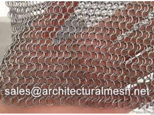 Chain Braid Ring Mesh