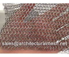 Chain Braid Ring Mesh
