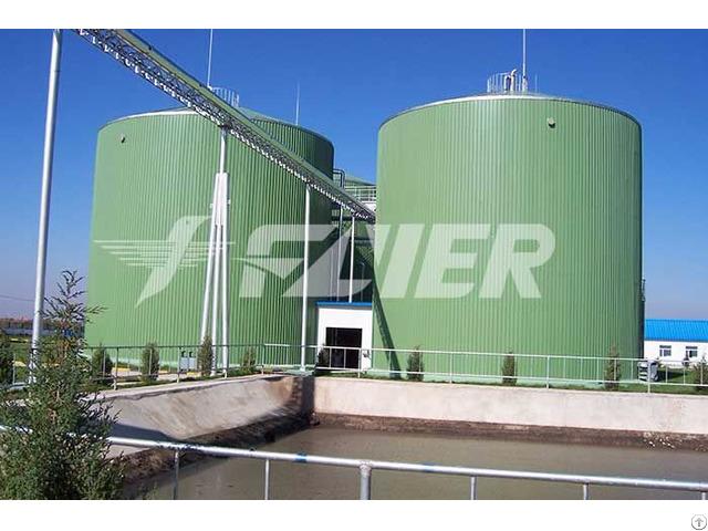Wastewater Treatment Storage Tank