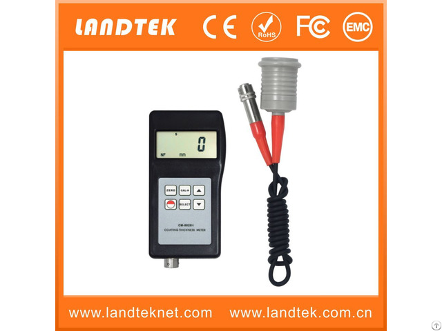 Landtek Large Range Anticorrosion Coating Thickness Gauge Cm 8829h
