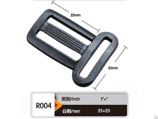 New Type Plastic Wire Side Adjustable Buckle For Webbing