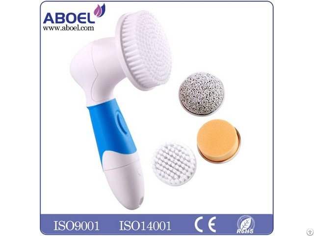 Hot Sale Facial Cleansing Brush System For Women And Men Face Body Electric Massager