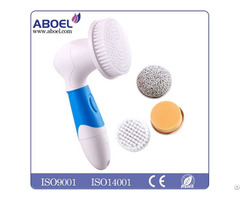 Custom Design Body Bristle Waterproof Rotating Cleaning Brush
