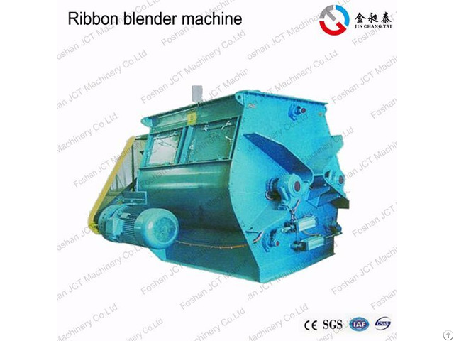 Jct Horizontal Ribbon Blender