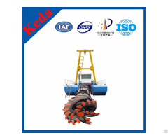 Diesel Engine Sand Cutter Suction Dredger