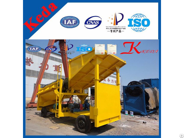 Alluvial Movable Gold Mining Machine