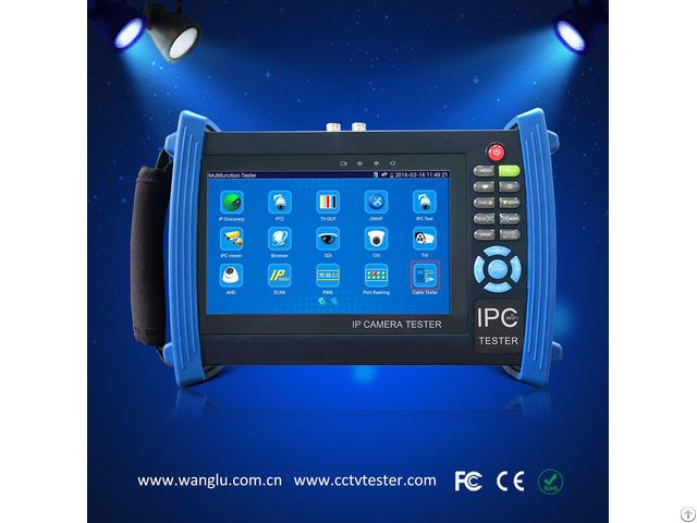 Hd Cvi Tvi Ahd Sdi Ip Camera Tester With 7 Inch Touch Screen