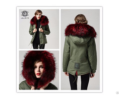 Women Winter Thick Coat With Fur Lined