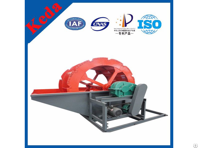 Wheel Type Portabl Sand Washing Machine For Sale